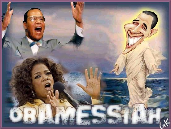 drugs delusional obama walking on water