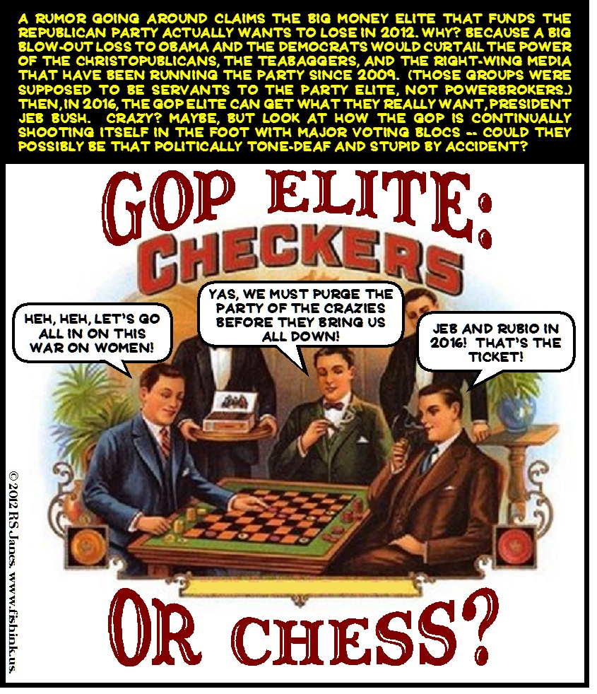 cartoon-gop-elite-checkers-chess