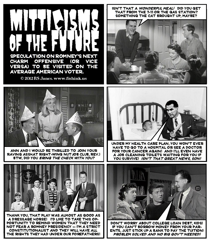 Upcoming Mitt the Flip Gaffes