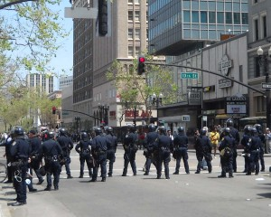 police-set-up-line-on-broadway