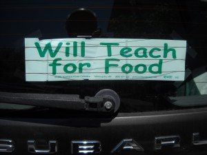 will-teach-for-food