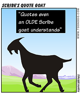 scribe-quote-goat