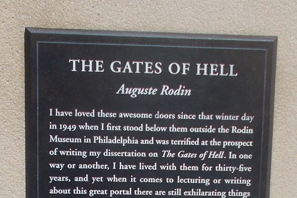 tight crop gates plaque